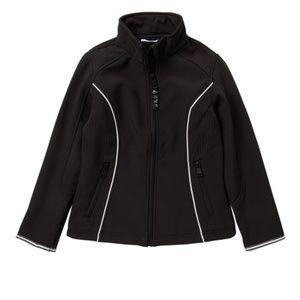 DKNY Softshell Zip Black Jacket NWT Sz 6X